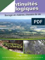 Continuités écologiques - Livret Eau & Rivieres de Bretagne