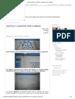 Tutorial Profit Plus_ Ventas y Cuentas Por Cobrar