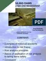 Danihelkarisk Analysis of Tailing Dams f