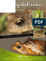 Amphibiens de Bretagne - Livret Eau & Rivieres de Bretagne