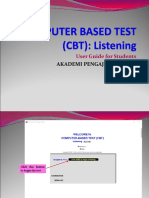 Elc121 & 120 Cbt Students User Guide