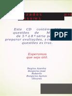 896 Questões de Matemática do 4º ao 9º ano - WORD.docx