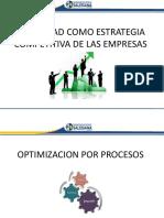 Unidad 5- Calidad Como Estrategia Competitiva