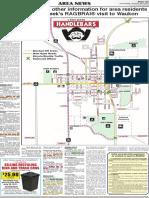 Waukon RAGBRAI Map