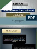 PPT Hiperpigmentasi Pasca Inflamasi
