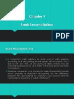 Ch9 - Bank Reconciliation