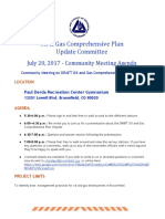 Agenda Oil and Gas Comprehensive Plan Community Meeting 7-20-17