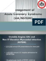 Management of ACS UA-NSTEMI DR.dr. Yudi Her - Workshop