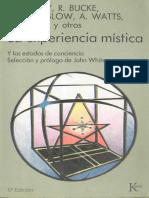 Huxley,Bucke,Maslow,Watts,Wilber - La Experiencia Mistica - Kairos-SCAN