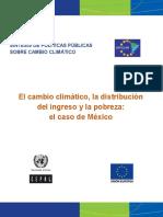 Sintesis Cambio Climatico y Distribucion Del Ingreso
