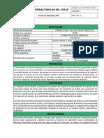 Ae805 Formulación y Evaluación de Proyectos