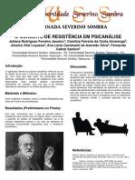 Resistencia - VII Jornada Severino Sombra 2017