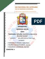 Grupo 1 Habilidades de la gerencia social