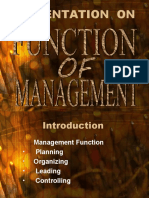 Management Function
