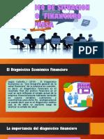 El Diagnóstico Económico Financiero de Una Empresa