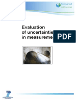 D3.1.6 Evaluation of Uncertainties in Measurements