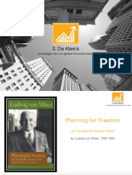 Planning for Freedom - Let the Market System Work