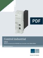 Manual SIRIUS Com Module PROFINET Es-mx