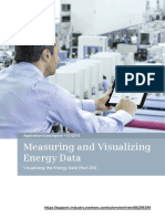 Proyecto de adquisición de datos de eneregia procesamiento y visualización en Pantalla KP 3