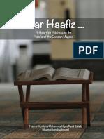 Dear Haafiz Book