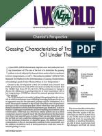 Gassing Characteristics of Transformer.pdf