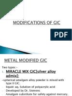 MODIFICATIONS OF GIC.pptx