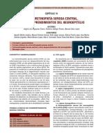 Cap 14 Coriorretinopatia Serosa Central. Otros Desprendimientos Del Neuroepitelio