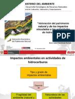 Exposición Ministerio Del Ambiente - Valoracion Patrimonio Natural