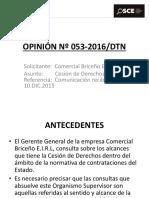 OPINIÓN-Nº-053-2016