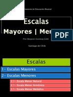 Escalas Mayores y Menores.ppt