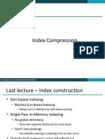 Index Compression