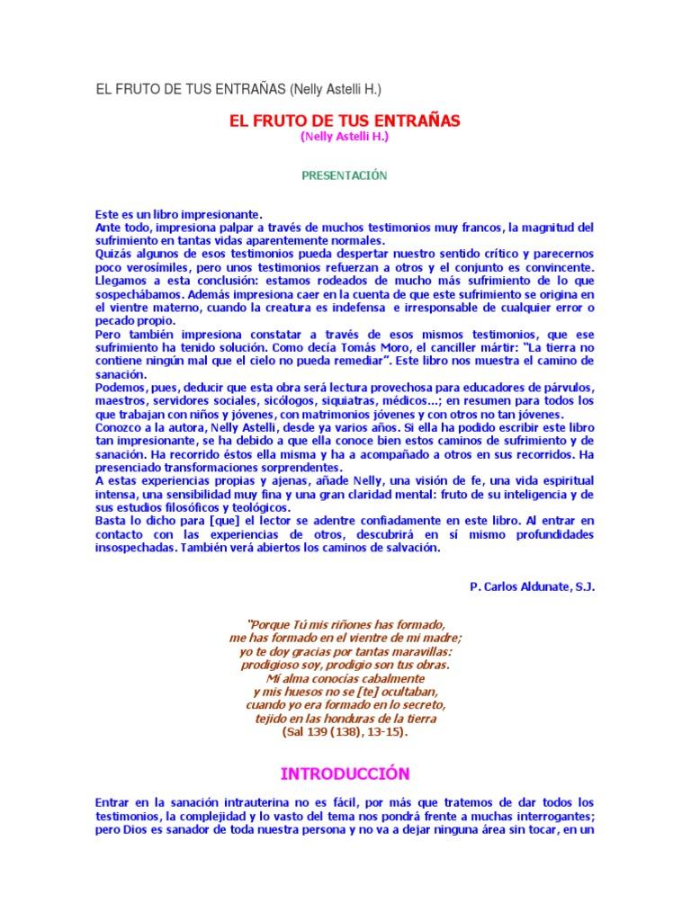 0ad71f4f431c El Fruto de Tus Entrañas, Nelly Astelli