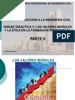 Unidad Didactica Parte 2 - Los Valores Morales y Eticos