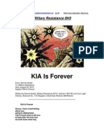 Military Resistance 8H3 KIA is Forever