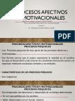 2da- Sesión Procesos Afectivos y Motivacionales
