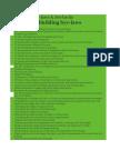 Building Bye Laws