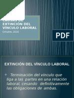 Extinción de Vínculo Laboral (Curso Mtpe) Oct. 2016 (3)