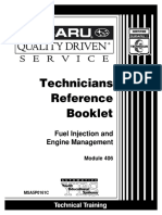 Subaru Mod. 406 Fuel Injection & Engine Management