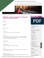 WPPSI-III - Escala de Inteligencia de Wechsler Para Pre-escolar y Primaria _ Universidad de Lima