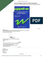 WPPSI III_ Para Preescolar y Primario