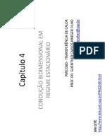 condução bidimensional em regime estacionario.pdf
