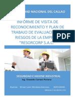 Informe de Visita de Reconocimiento y Plan de Trabajo RESORCORP.docx