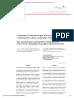 Caracterización Neuropsicológica de La Impulsividad Funcional y Dis.