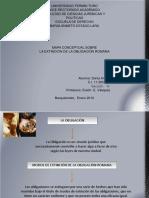 mapa    conceptua      lsobre   la    extincin     de  la     obligacin      romana  drii10