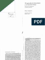 Bleichmar, S. - Interpretación y Develamiento en El Aprendiz de Historiador y El Maestro Brujo