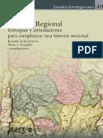Bonaudo (Comp.), Historia regional