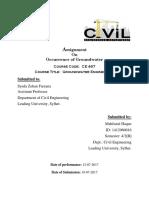 Groundwater Engineering