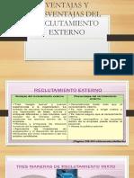 VENTAJAS Y DESVENTAJAS DEL RECLUTAMIENTO EXTERNO.pptx