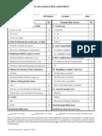 Nevada Parole Risk Assessment Form