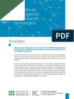 Marzo 2017- Gacetilla de Investigación y Vinculación Tecnológica UNAHUR #1